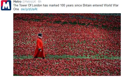 WW1poppies